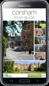 Corsham Town Guide Screenshot