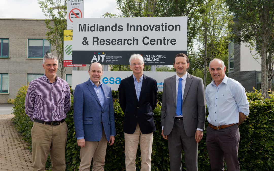 Irish Minister for Communications visits Townapps