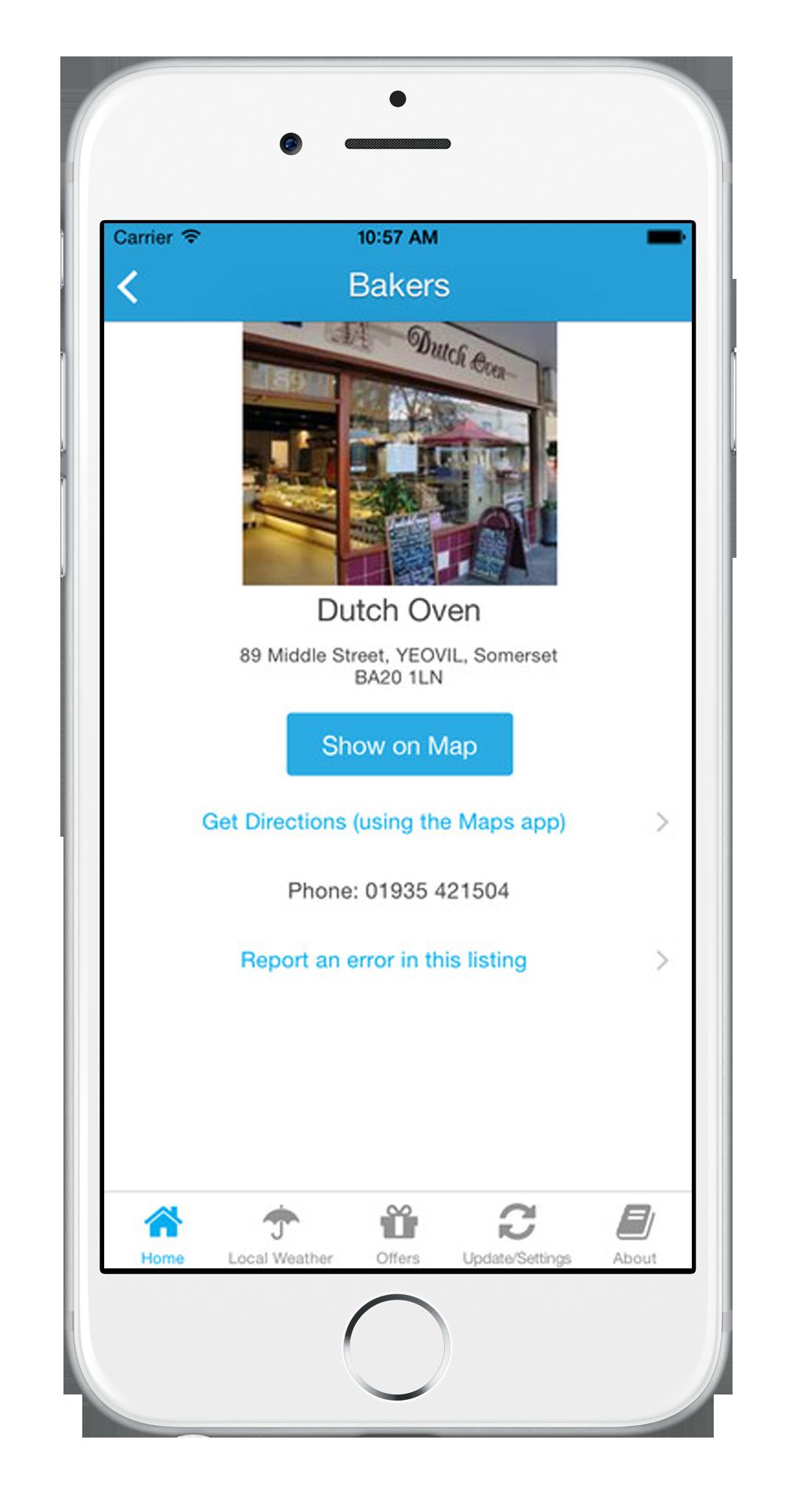 Shops in Yeovil, Yeovil Town Guide App, Somerset