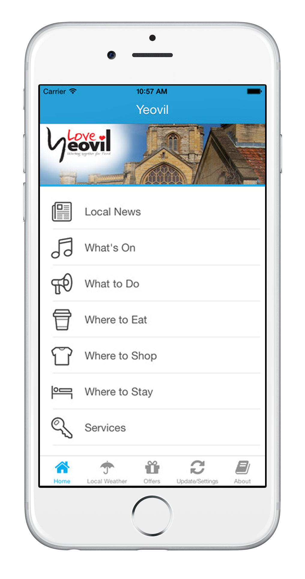 Yeovil Town Guide App, Things to do in Yeovil Somerset
