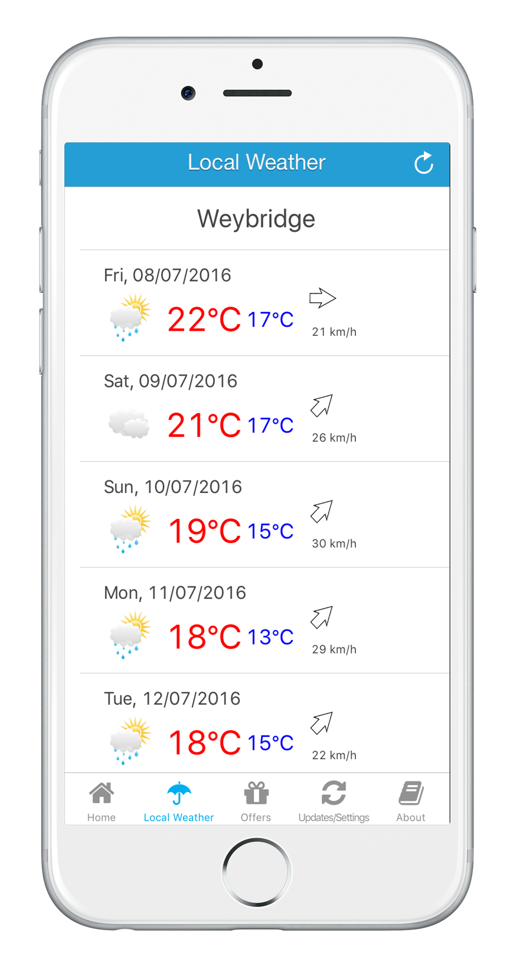 Prepare with weather forecast, maps and directions.